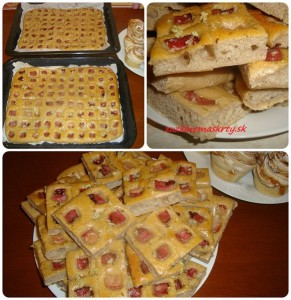 kváskový slaninkový koláč