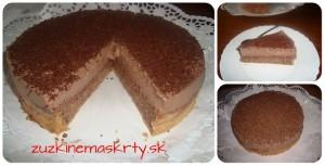 parížska torta bez múky