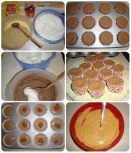 veľkonočné bezlepkové cupcake fotopostup