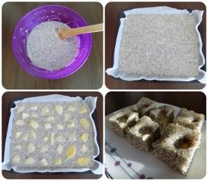makový koláč s ananásom fotopostup
