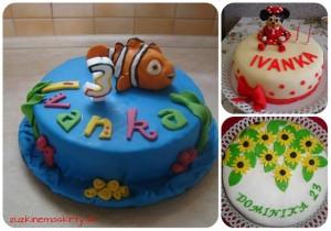 orechová narodeninová torta