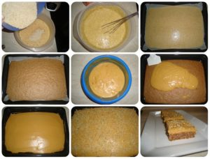 karamelové rezy fotopostup