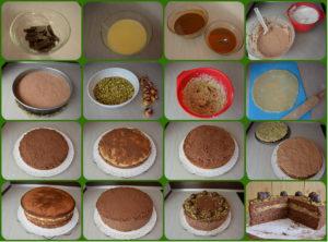 mozartova torta fotopostup