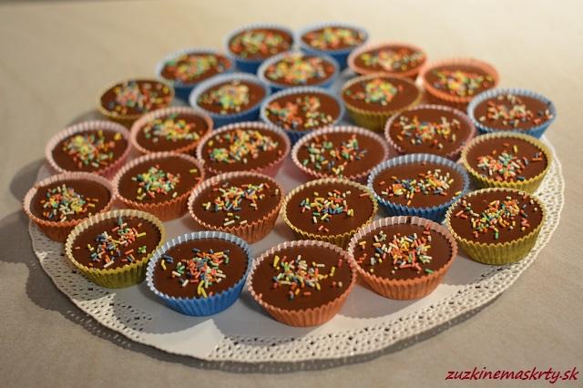 Orechovo-karamelové šuhajdy