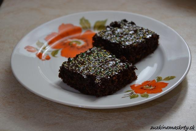 Cuketový koláč z ovsených vločiek