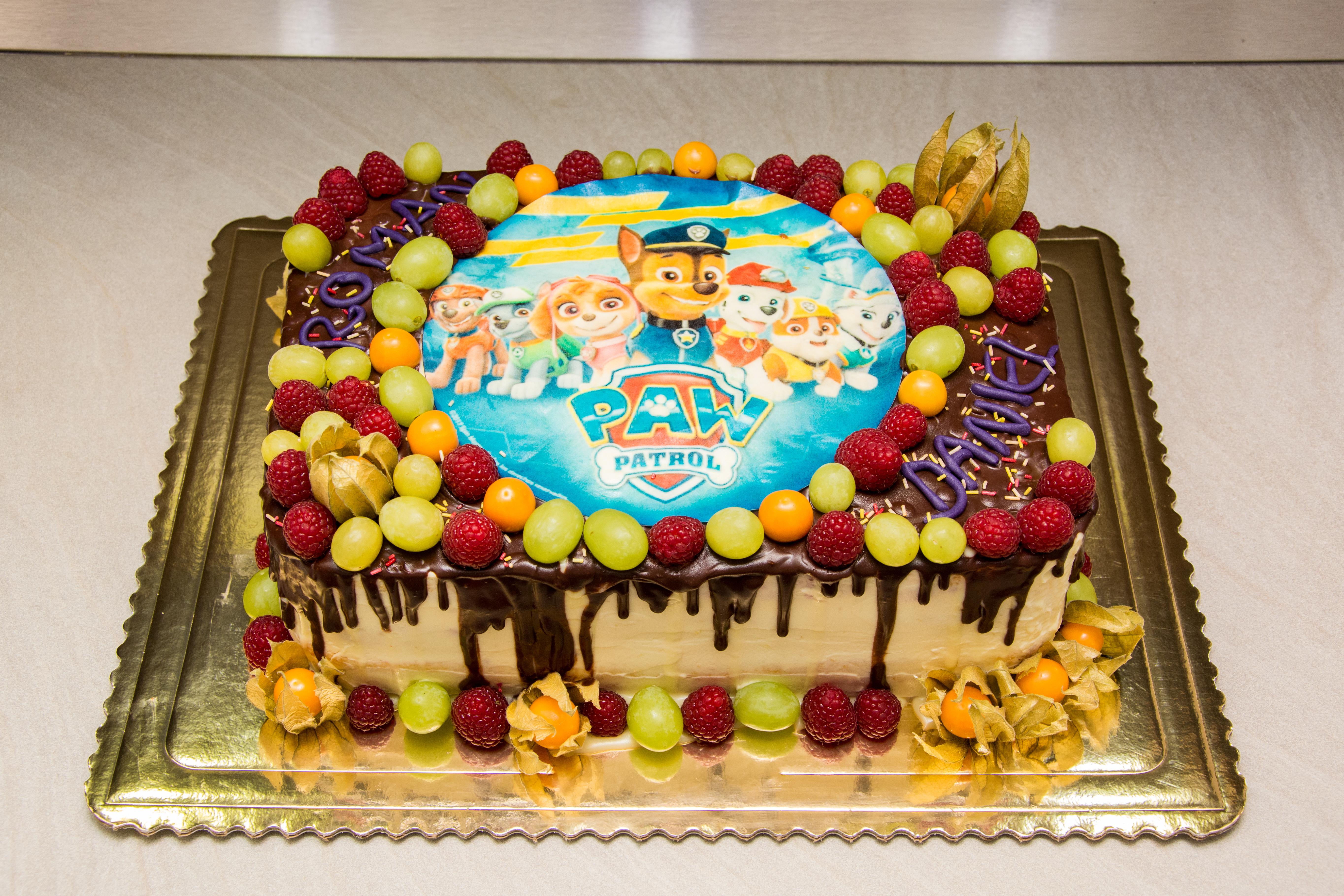 Detská narodeninová torta