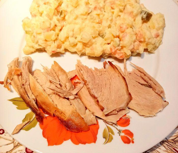 Diétny zemiakový šalát